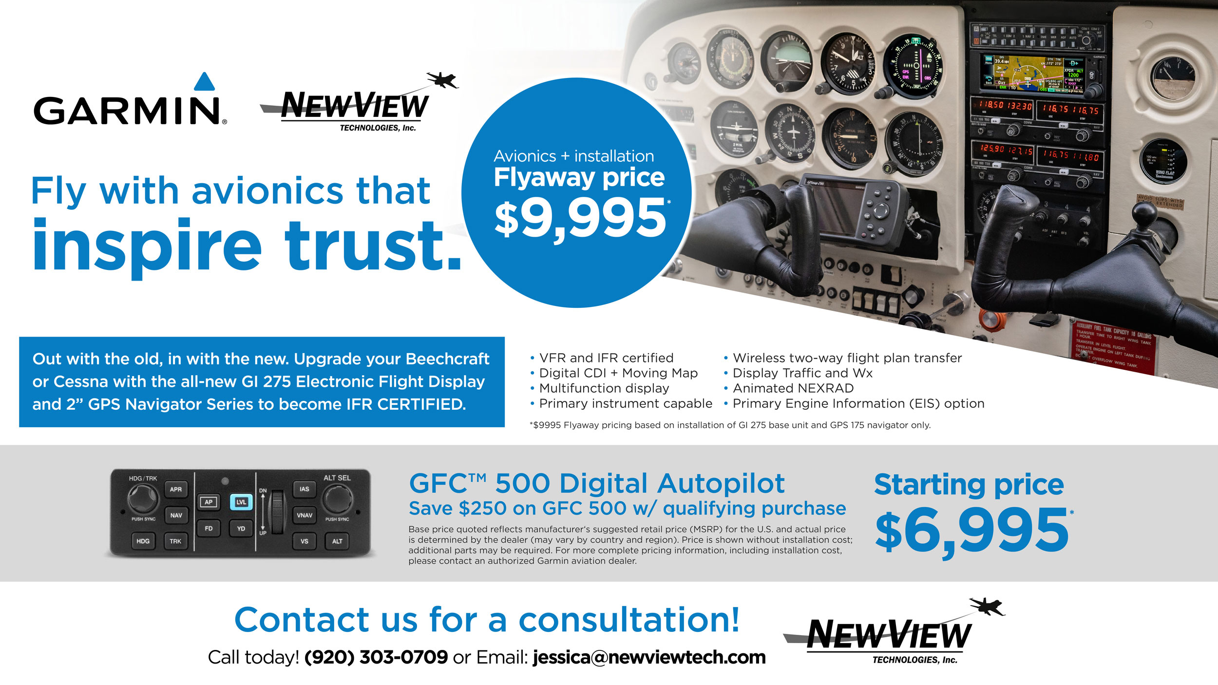Garmin Fly-Away Special Pricing
