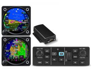 Dual GI 275 with GMU 11 and GFC 500 Autopilot